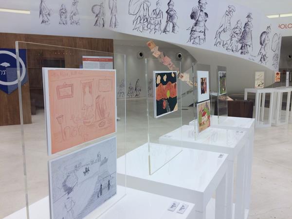 A exposição As Meninas do Quarto 28 tem entrada gratuita e ficará em cartaz até o dia 29 de outubro - Crédito: Marília Gouveia/DP