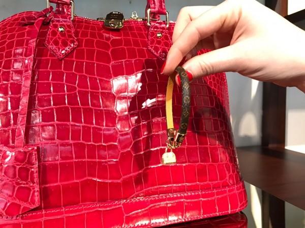 A primeira compra da Louis Vuitton: pulseira que custa R$ 1,6 mil