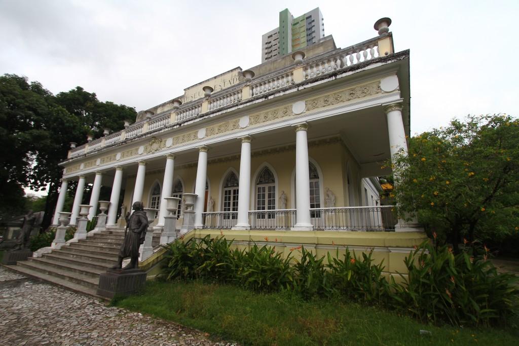 Palacete do Museu do Estado - Credito: Peu Ricardo/DP