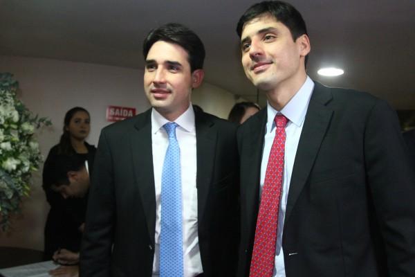 Silvio Costa Filho e seu irmao Carlos Costa