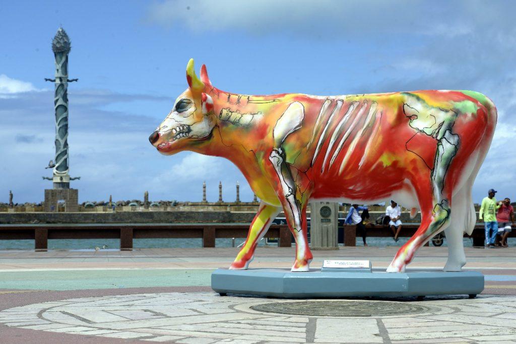 0dcda7c553b CowParade vai espalhar 55 esculturas de vacas pelo Recife