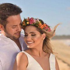 Suellen Figueirôa e Gustavo Melo trocam alianças neste sábado