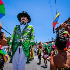 Homem da Meia-Noite homenageia Galo da Madrugada no Carnaval