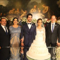 Confira a galeria de fotos do casamento de Juliana Queiroz e Lucas Bezerra