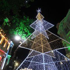 Ônibus iluminado fará passeio pelas decorações de natal no Olha! Recife