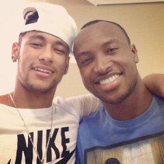 Neymar e Thiaguinho viram sócios no Rio de Janeiro