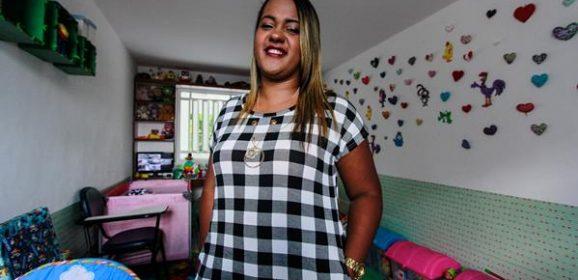 Germana Soares, mãe de um dos bebês do primeiro grupo com microcefalia em Pernambuco, é fundadora da ONG União de Mães de Anjos