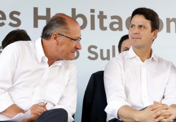 Resultado de imagem para bruno araujo e Alckmin