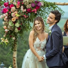 Sthefany Brito casou-se em cerimônia realizada em uma vinícola na Itália