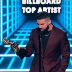 Drake é o artista mais premiado do Billboard Music Awards