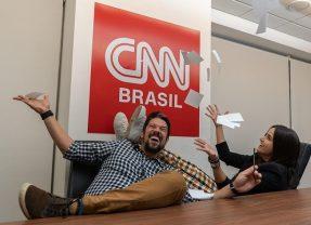 CNN confirma contratação do casal Phelipe Siani e Mari Palma