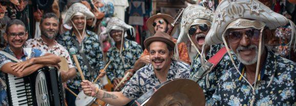 Zé do Estado, Fim de Feira e Adiel Luna misturam ritmos em nova turnê
