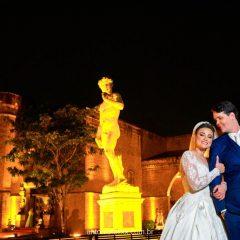 O enlace de Marcella Viana e Diego Carneiro
