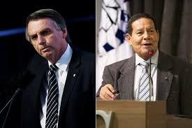 Mourão é mais bem avaliado que Bolsonaro, segundo Datafolha | VEJA