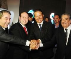 Rede Record e a TV Clube Pernambuco comemoram parceria