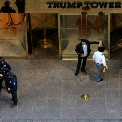 Segurança na casa de Donald Trump