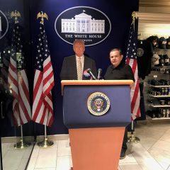 """""""Entrevistando"""" Donald Trump em Las Vegas"""