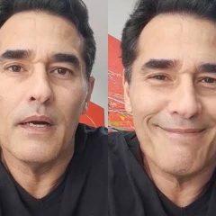 Em 1º vídeo após alta, Luciano Szafir agradece apoio em recuperação da Covid