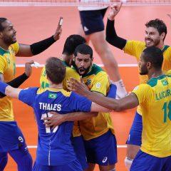 Olimpíadas: Brasil enfrenta Japão no vôlei masculino