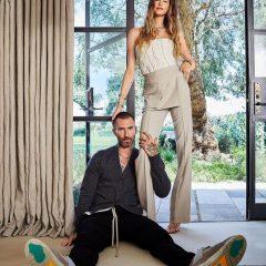 Adam Levine e Behati Prinsloo abrem as portas de casa luxuosa