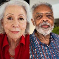 Fernanda Montenegro e Gilberto Gil de olho em vagas na ABL