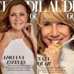 Adriana Esteves e Renata Sorrah estampam capas da revista Claudia
