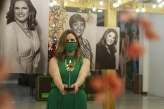 Márcia Longman, premiada na categoria Moda (Foto: Romulo Chico/Esp.DP)
