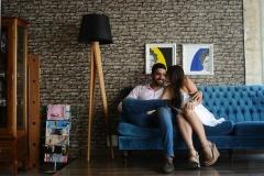 Carol Laroche e Marcelo Wanderley