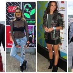 Look das famosas que foram curtir o Lollapalooza em São Paulo