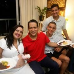 Claudemir Barros acredita que os filhos herdaram seus dotes culinários