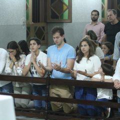 Emoção tomou conta da missa em memória de Eduardo Campos