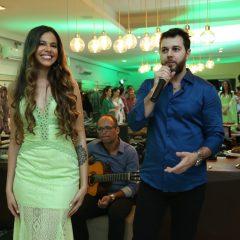 Heracliton Diniz lançou coleção para marca mineira em noite de festa