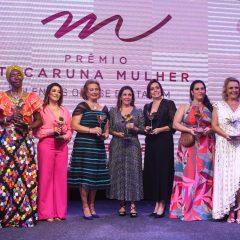 A belíssima cerimônia de entrega do Prêmio Tacaruna Mulher 2020